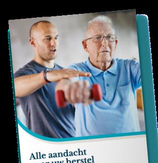 Alle aandacht naar herstel brochure bij Dores Herstelzorg
